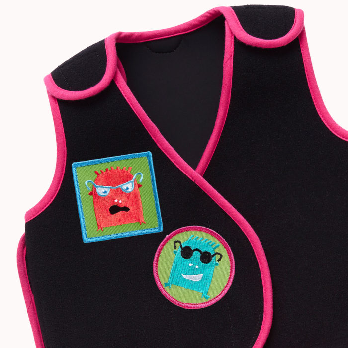 PunkinHug vest with Zuggey PunkinPals