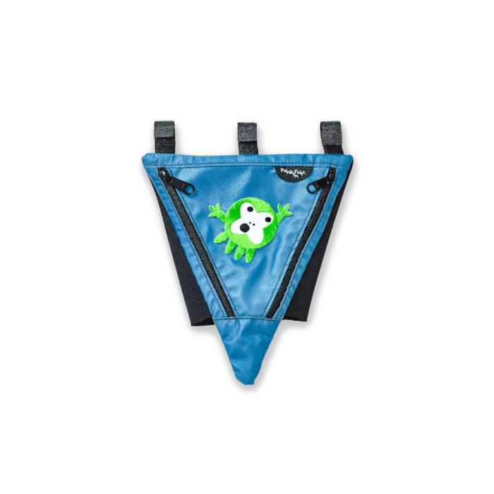 Blue PunkinPie with Monktopus patch