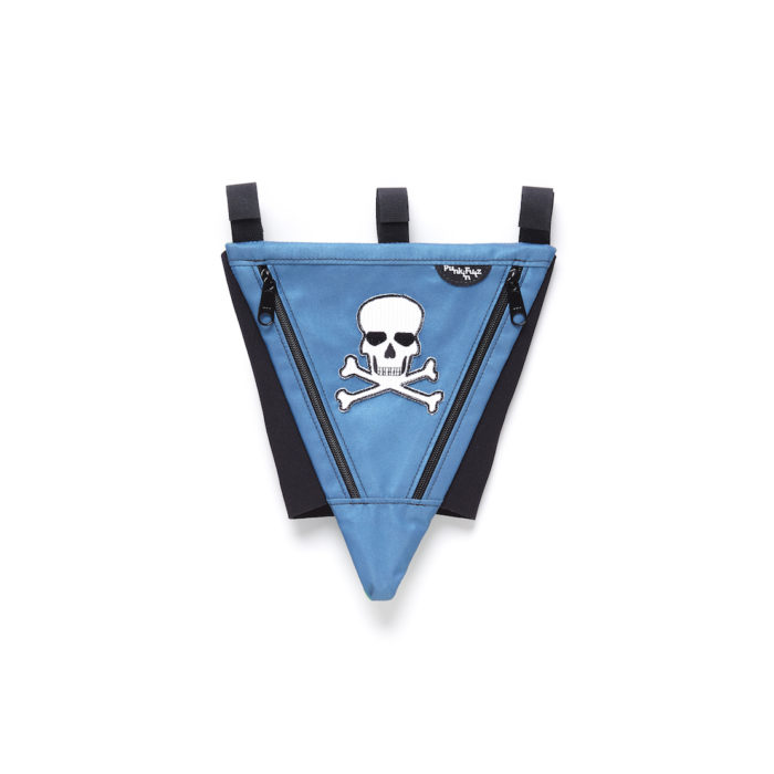 Blue PunkinPie with Pirate
