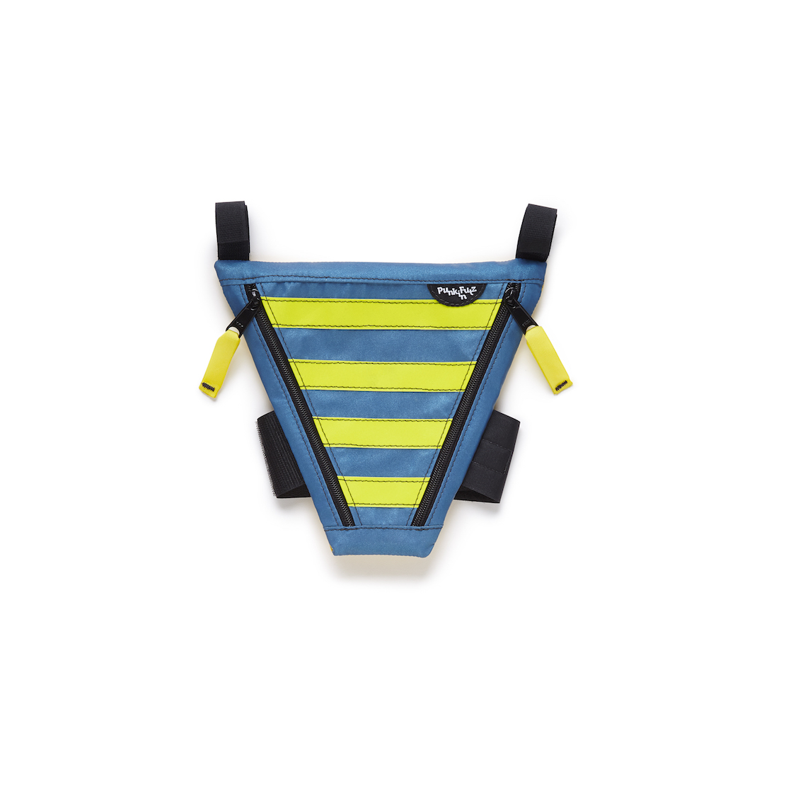 Blue and Yellow Striped PunkinPie