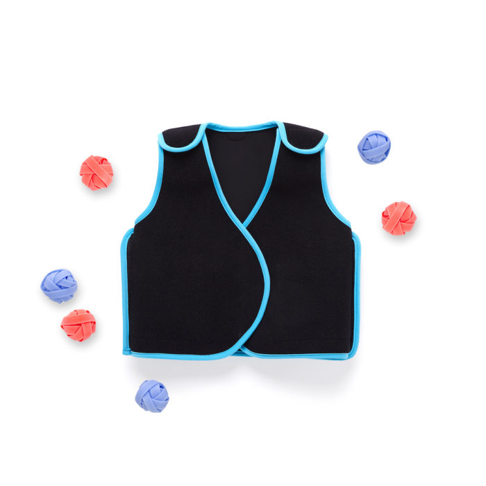 PunkinPitch vest with paintballs